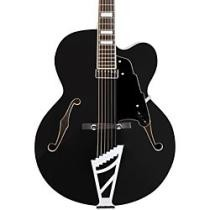 53% off D'Angelico Premier Series Black EXL-1 Hollowbody Electric Guitar w/ Stairstep Tailpiece