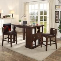 54% off Bedford Project Table w/ Two Matching Barstools