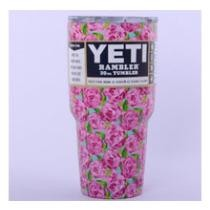 54% off Floral Stainless Tumblers 30 oz