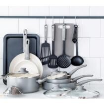 54% off GreenLife Ceramic Non-Stick 18 Piece Cookware Set + Free Shipping