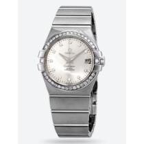 54% off Omega Constellation Co-Axial Automatic Chronometer Diamond Silver Dial Ladies' Watch
