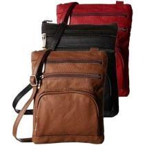 54% off Super Soft Leather-Crossbody Bag