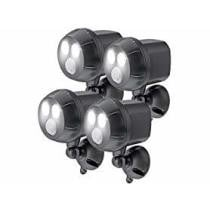 55% off 4-Pack Mr. Beams Motion-Sensing 400-Lumen Spotlights