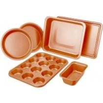 55% off 6-Piece Non-Stick Copper Bakeware Set + Free Shipping