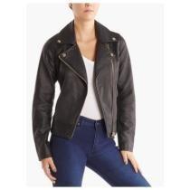55% off Steve Madden Women's Faux Leather Moto Jacket