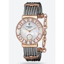 58% off Charriol St Tropez Mother of Pearl Dial Chevron Cable Ladies' Watch