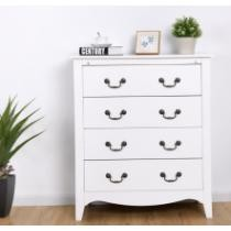 58% off Costway 4 Drawers Chest Dresser + Free Shipping