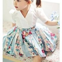 58% off Little Lady Floral A-Line Dress for Baby Girl
