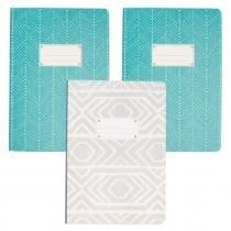 58% off Set of 3 Paperback Flex 240 Pages Softcover Journals by C.R. Gibson
