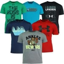 58% off Under Armour Boy's Mystery Tech 3-Pack T-Shirt
