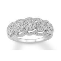 $580 off Diamond Ring 3/4 ct tw Round-cut 10K White Gold