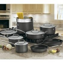 59% off Cuisinart Contour Hard Anodized 13-Piece Set + Free Shipping