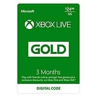 6 Months Microsoft Xbox Live $24.99 (Walmart - Digital Delivery)