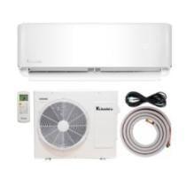 6% off 12,000 BTU Klimaire 21.5 Seer Ductless Mini-Split Inverter Air Conditioner Heat Pump System + Free Shipping