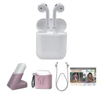 $60 off Apple Airpods Truly Wireless Earphones w/ Charging Case & Stand + Free Shipping
