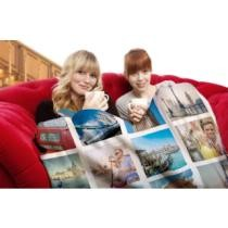 60% off Large Custom Mink Touch Photo Blanket