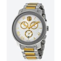 60% off Movado Bold Silver Dial Two-tone Men's Quartz Watch