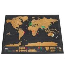 60% off Scratch World Map Travel Edition Original 42 * 30cm