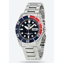 60% off Seiko 5 Dark Blue Dial Diver Stainless Steel Automatic Men's Watch