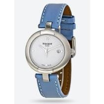 60% off Tissot Pinky White Dial Blue Leather Ladies' Watch