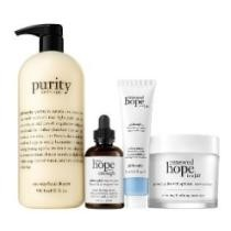 61% off Philosophy Renew w/ Hope & Purity Super-size 4-Piece Skincare Kit