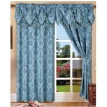 62% off Elegant Comfort Penelopie Jacquard Look Curtain Panel Set