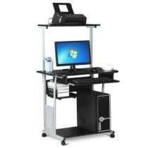 63% off 2 Tier Mobile Computer Desk Stand Home Office Work Printer