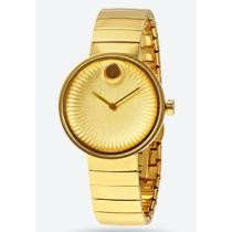 63% off Movado Edge Yellow Gold Aluminum Dial Ladies' Watch