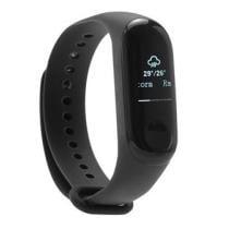 64% off Xiaomi Mi Band 3 Smart Bracelet, Replacement Strap & Protective Screen Film
