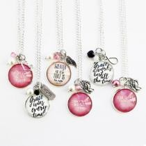 65% off Scripture Inspired Pendants