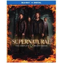 65% off Supernatural: The Complete Twelfth Season Blu-ray