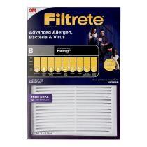 66% off Filtrete Advanced Allergen, Bacteria & Virus True HEPA Room Air Purifier Filter