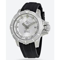 67% off Ball DeepQUEST Silver Dial Automatic Men's Rubber Watch