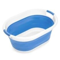 67% off Best Choice Products Collapsible Large Plastic Laundry Basket Storage Container - Blue
