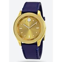 67% off Movado Bold Gold Dial Blue Silicone Ladies' Watch