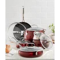 68% off 11-Piece Belgique Aluminum Cookware Set + Free Shipping