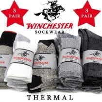 68% off 3 Pairs of Winchester Thermal Socks + Free Shipping