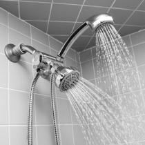 68% off 5-Function Dual Shower Head & Massager Set + Free Shipping