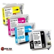 69% off 4 Compatible Ink for Brother LC103BK, C, M & Y