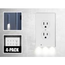 69% off 4-Pack: LED Night Light Outlet Cover