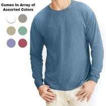 69% off 5 Pack of Ultra Comfortable 100% Cotton Long Sleeve Shirts + Free Shipping