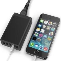 69% off iTD Gear Universal 40W Power 5-Port Super Fast USB Desktop Charger