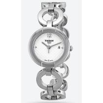 69% off Tissot Pinky White Dial Stainless Steel Ladies' Watch