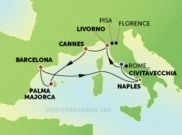 7-Day Western Mediterranean Cruise from Rome