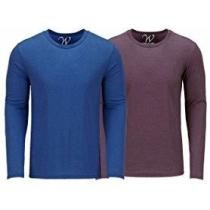 70% off 2-Pack Men's Ultra Soft Sueded LS Tees