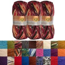 70% off 3pk Lion Brand Woolspun Acrylic & Wool Bulky