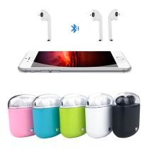 70% off Clear Top Dual Chamber Wireless Bluetooth Earphones