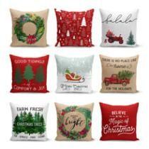 70% off Farmhouse Christmas Pillow Collection