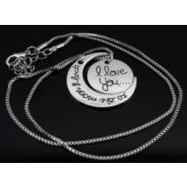 70% off I Love You To The Moon & Back Necklace By Maze Exclusive