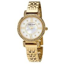 71% off Anne Klein Women's Metal White Mother of Pearl Dial
